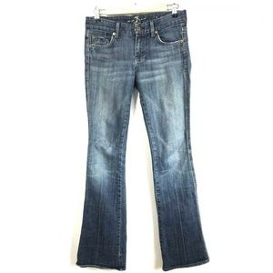 Seven 7 For All Man Kind Jeans Boot Cut Size 26